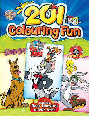 201 Colouring Fun  Scobby Doo! Tom and Jerry Looney Tunes