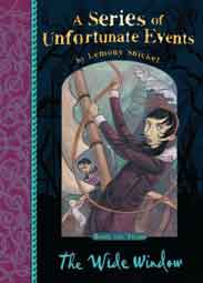 A Series of Unfortunate Events  3 The Wide Window - (PB)
