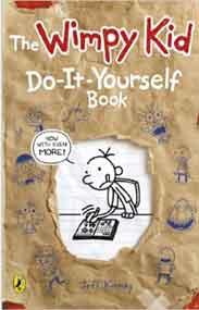 Diary of a Wimpy Kid Do It Yourself Book - (PB)