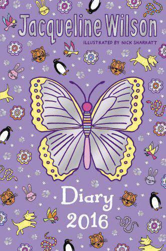 Jacqueline Wilson Diary 2016 - (HB)