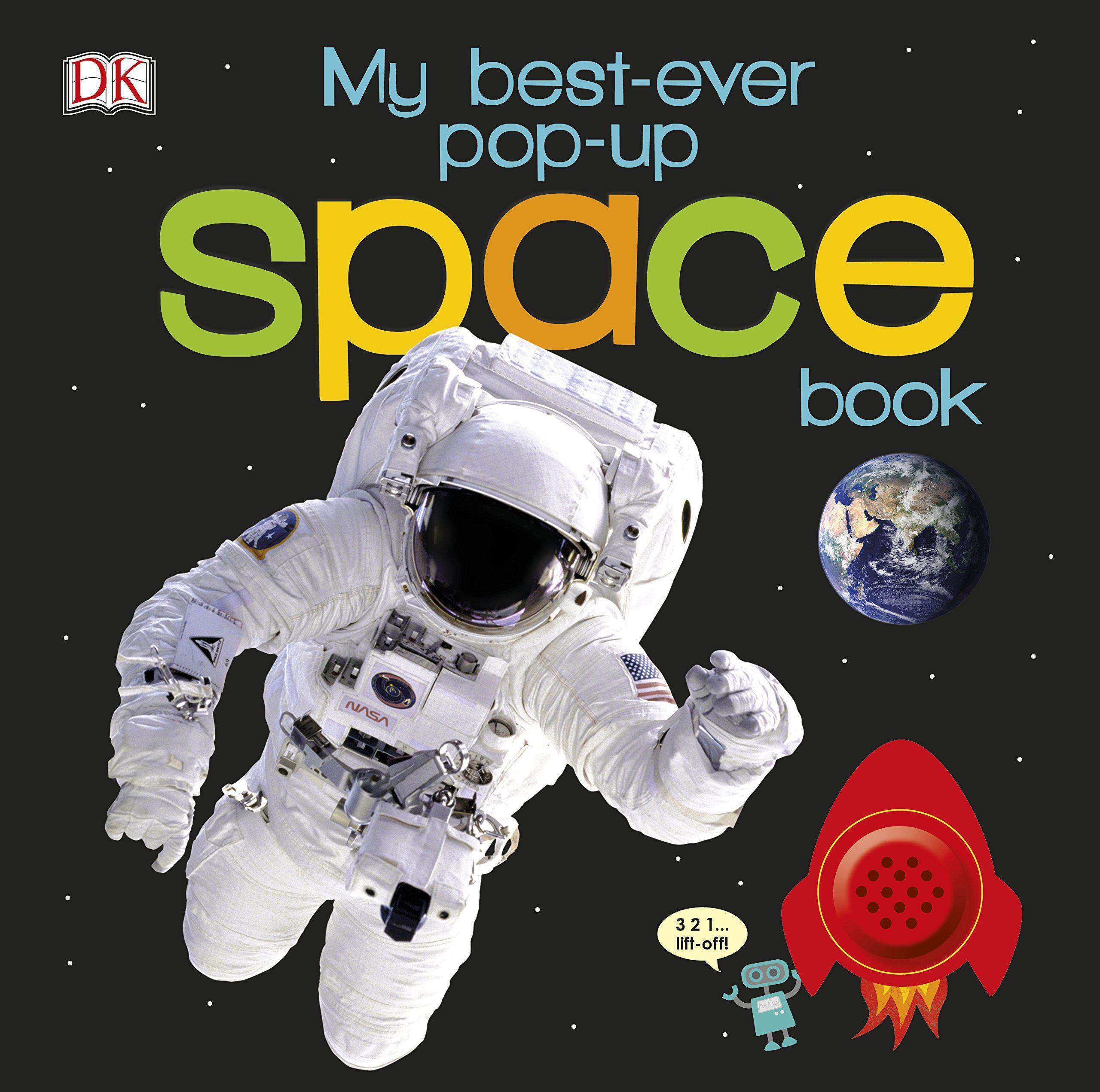 My Best-Ever Pop-Up Space Book (DK) - (HB)