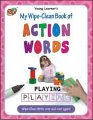 My Wipe Clean Book of Action Words