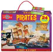 Pirates Jumbo Floor Puzzle 24 Jumbo Pieces -