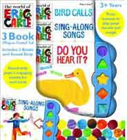 The World of Eric Carle: 3 Books Play a Sound     -     (HB)