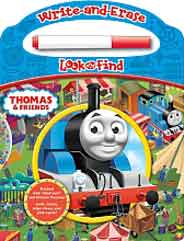Thomas and Friends Write and EraseLook and Find