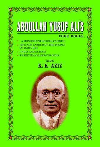 Abullah Yusuf Ali Four Books
