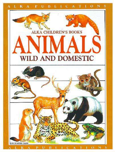 Alka Childrens Book Animals