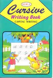 Alka Cursive Writing Book Capital Writing