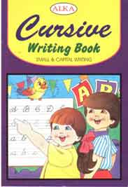 Alka Cursive Writing Book Small And Capital Writing