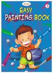 Alka Easy Painting Book # 3: Blue