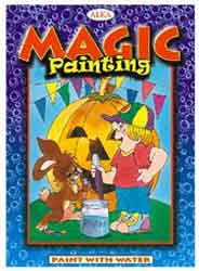 Alka Magic Painting Paint With Water Blue