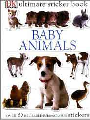 Baby Animals Ultimate Sticker Book Ultimate Stickers