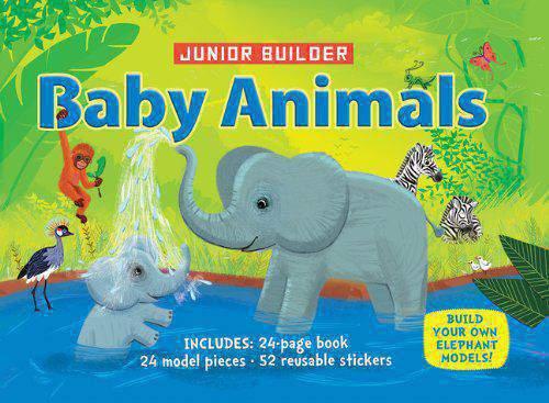 Baby Animals With 24 Model Pieces Junior Builder