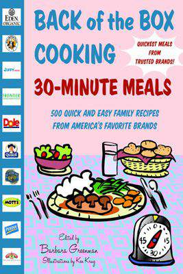Back of the Box Cooking 30Minute Meals