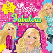 Barbie Fabulous Jigsaw Book