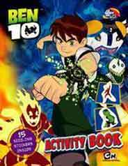 Ben 10 Activity Book 15 Sizzling Stickers Inside 01 Edition