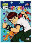 Ben 10 Green Paper Colouring