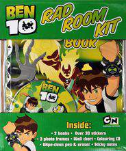 Ben 10 Rad Room Kit Box