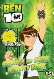 Ben 10 Scratch And Show Activity Book