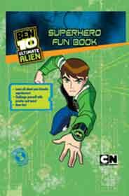 Ben 10 Super Hero Fun Book