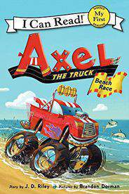 BF - Axel the Truck: Beach Race (My First I Can Read)