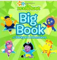 Big Book of Backyard Adventures Nick Jr the Backyardigans -