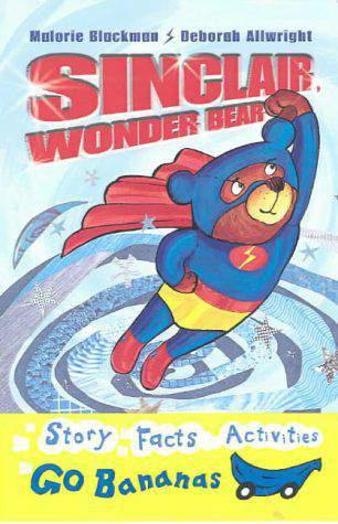 Blue Go Bananas Sinclair Wonder Bear
