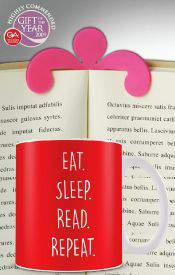 Book Holder + For The Love of Books: Mug