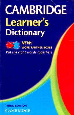 Cambridge Learners Dictionary Book
