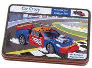 Car Crazy Magnetic BuildIts                      BOX