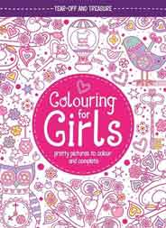 Colouring For Girls Pretty Pictures To Colour And Complete