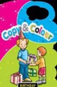 Copy and Colour Birthday Handle Book