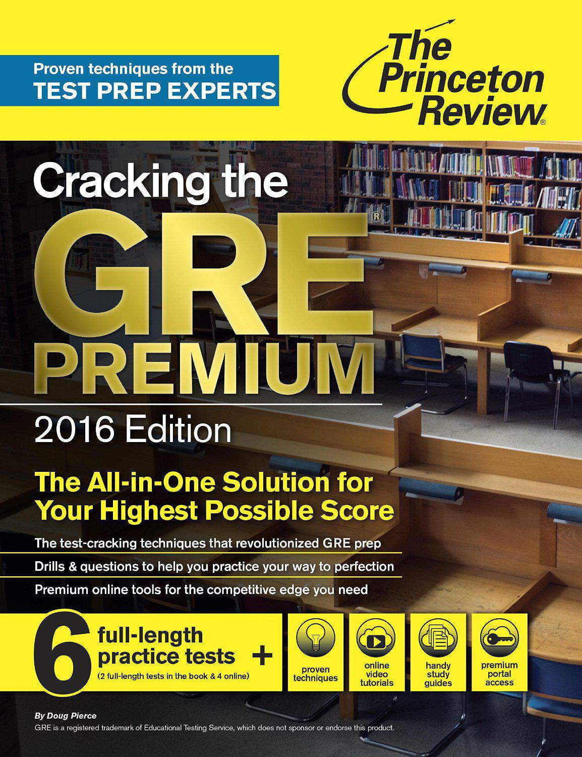 Cracking the GRE Premium Edition 2016 Graduate School Test Preparation