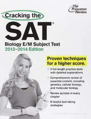 Cracking the SAT Biology EM Subject Test  2013 2014