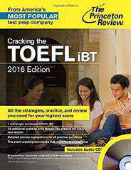 Cracking the TOEFL iBT with Audio CD 2016 Edition College Test Preparation