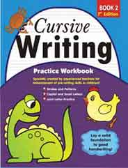 Cursive Writing Practice Workbook # 2