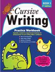 Cursive Writing Practice Workbook # 5