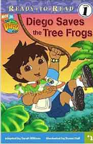 Diego Saves the Tree Frogs ReadyToRead Go Diego Go  Level 1