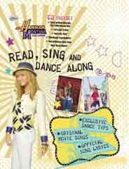 Disney Hannah Montana Read Sing And Dance Along