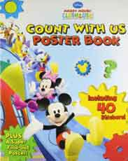 Disney Mickey Mouse Club House Count With Us Poster Book
