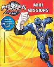 Disney Power Rangers Activity Mini Missions