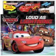 Disney/Pixar/Cars 2: World Grand Prix Loud as Lightning Storybook & Sound FX Car