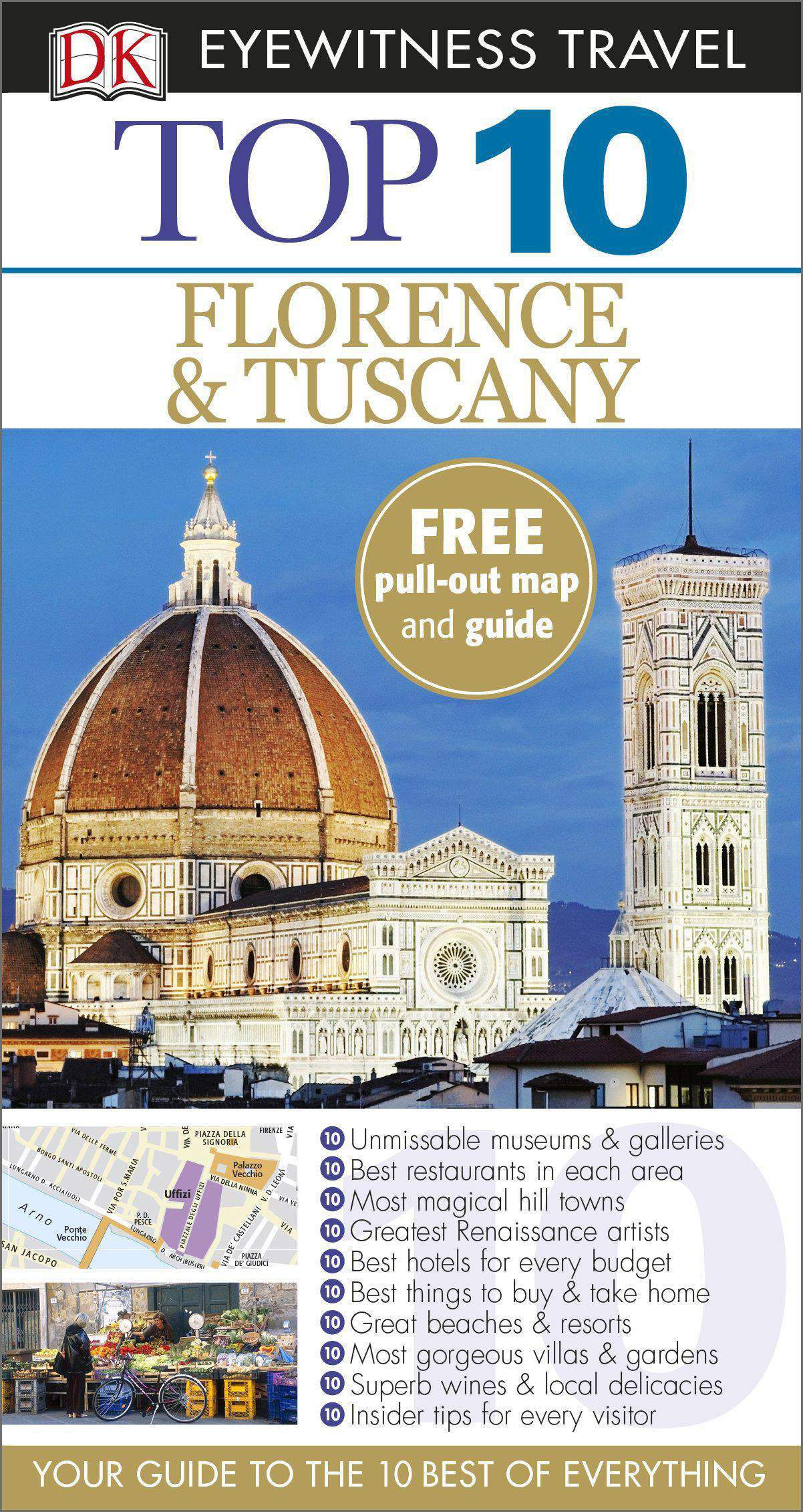 DK Eyewitness Top 10 Travel Guide Florence & Tuscany