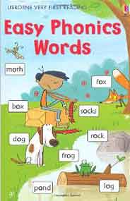 Easy Phonic Words Usborne Very First Reading