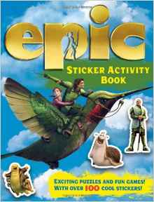 Epic Sticker Activity Book Epic Film Tie in Spiralbound