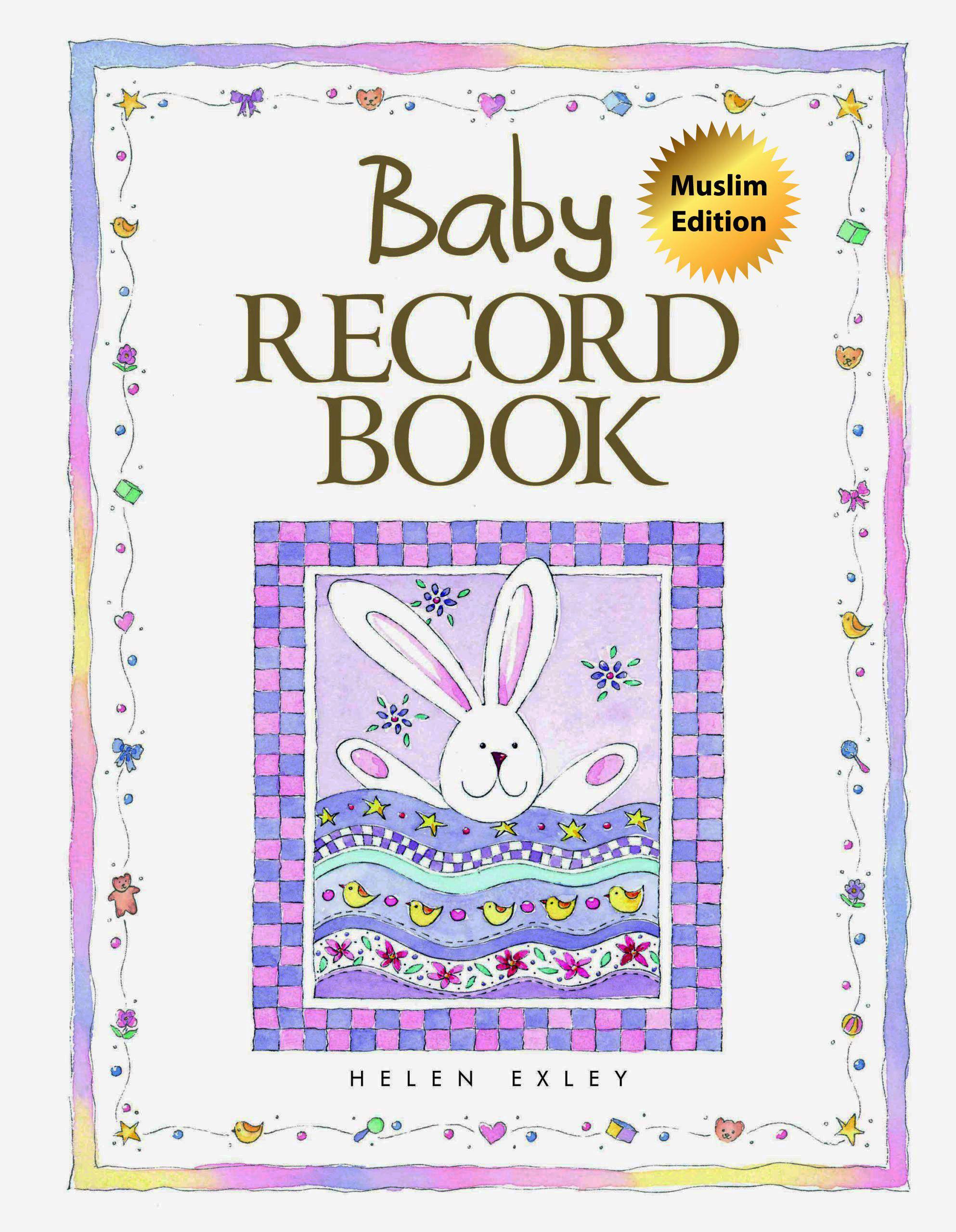 Exley Baby Record Book