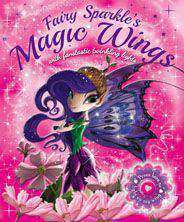Fairy Sparkles Magic Wings With Fantastic Twinkling Lights