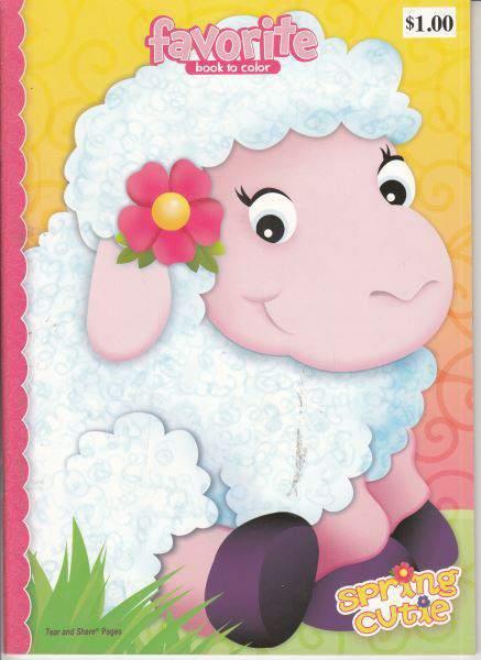 Favorite book to color Spring Cutie