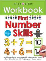 First Number Skills Wipe Clean Workbooks -
