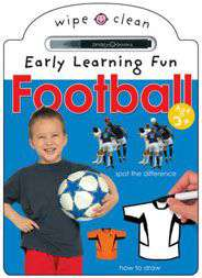 Football Wipe Clean Early Learning Fun